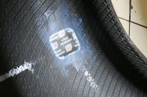 autoband plakken